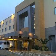 호텔에서의 전망