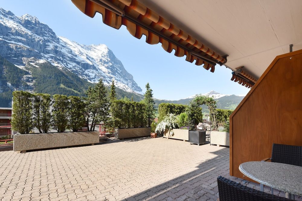 View from Room, Aparthotel Eiger Grindelwald