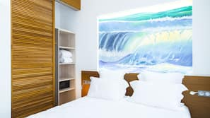 Hochwertige Bettwaren, Minibar, Zimmersafe, kostenloses WLAN