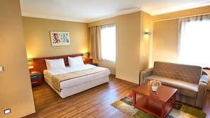 Minibar, Zimmersafe, schallisolierte Zimmer, Rollstuhlgeeignet