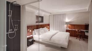 Roupas de cama premium, cofres nos quartos, escrivaninha, berços grátis