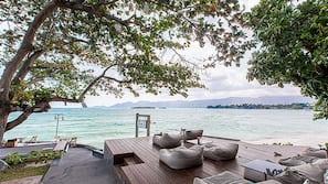 Playa privada cerca y masajes en la playa