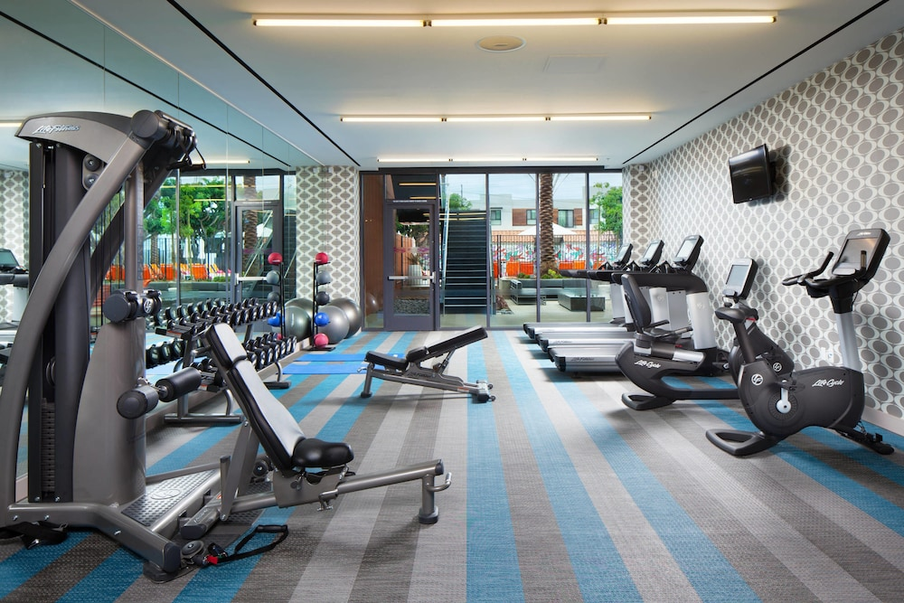 Fitness Facility, Aloft El Segundo - Los Angeles Airport