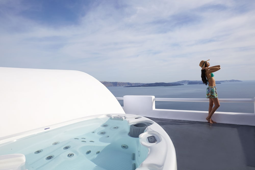 Private Spa Tub, Oia Collection Boutique Suites