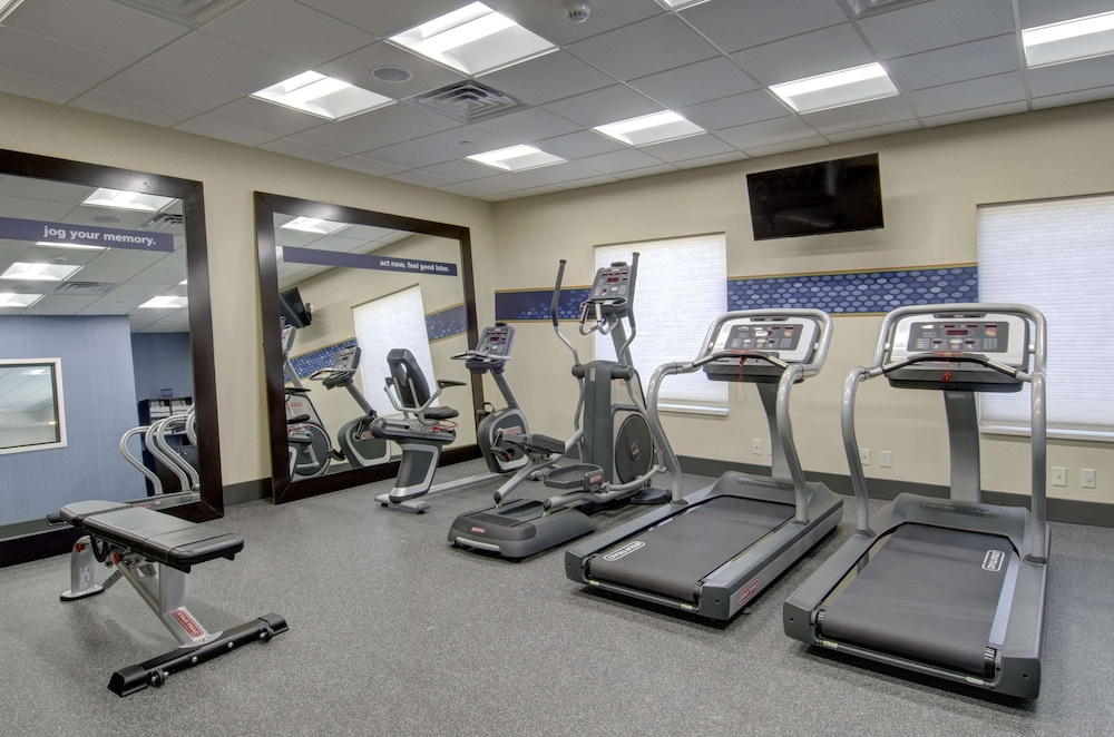 Fitness Facility, Hampton Inn & Suites Springfield / Downtown