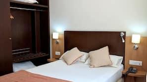 Mörkläggningsgardiner, gratis wi-fi och sängkläder
