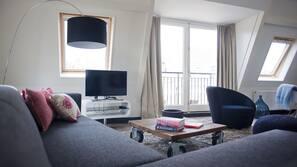 40-Zoll-Flachbildfernseher mit Kabelempfang, Fernseher