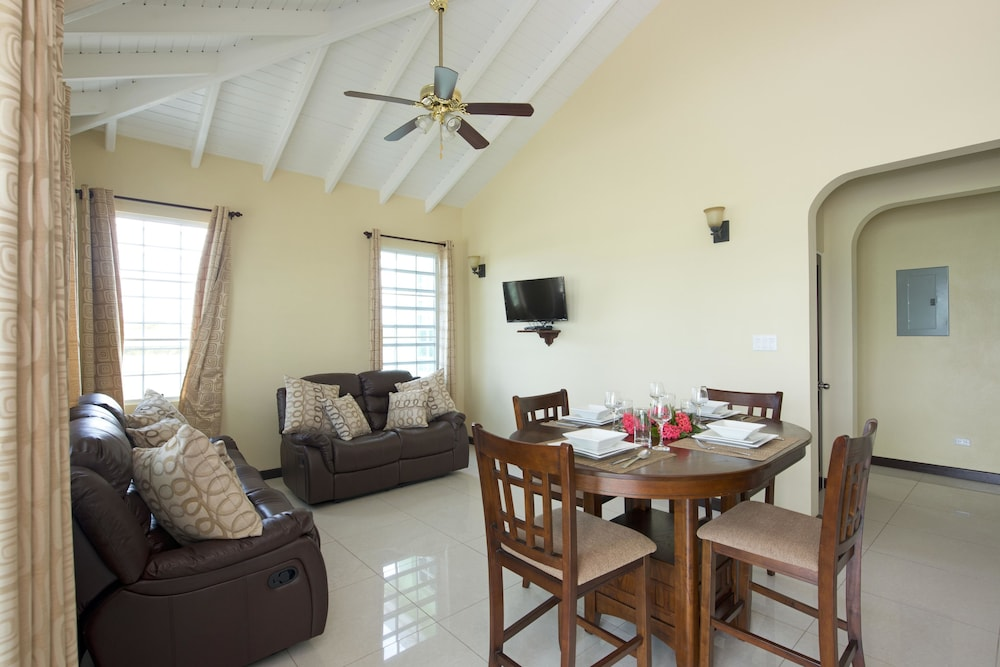 Living Area, Sea Grape Villas