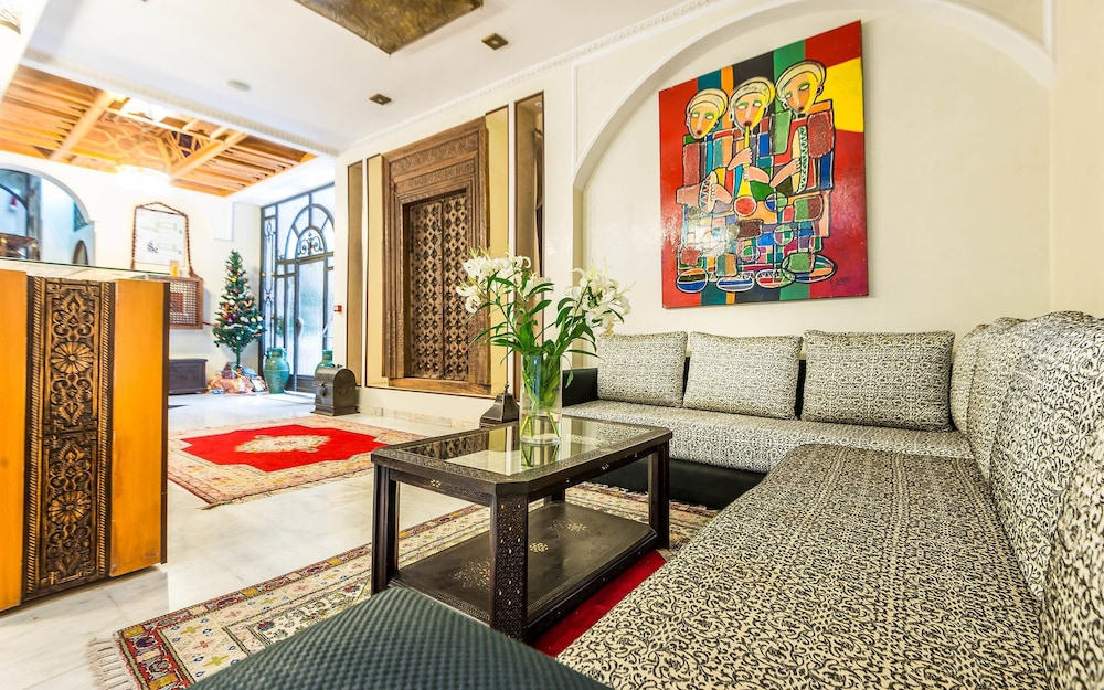 Lobby Sitting Area, Hotel & Ryad Art Place Marrakech