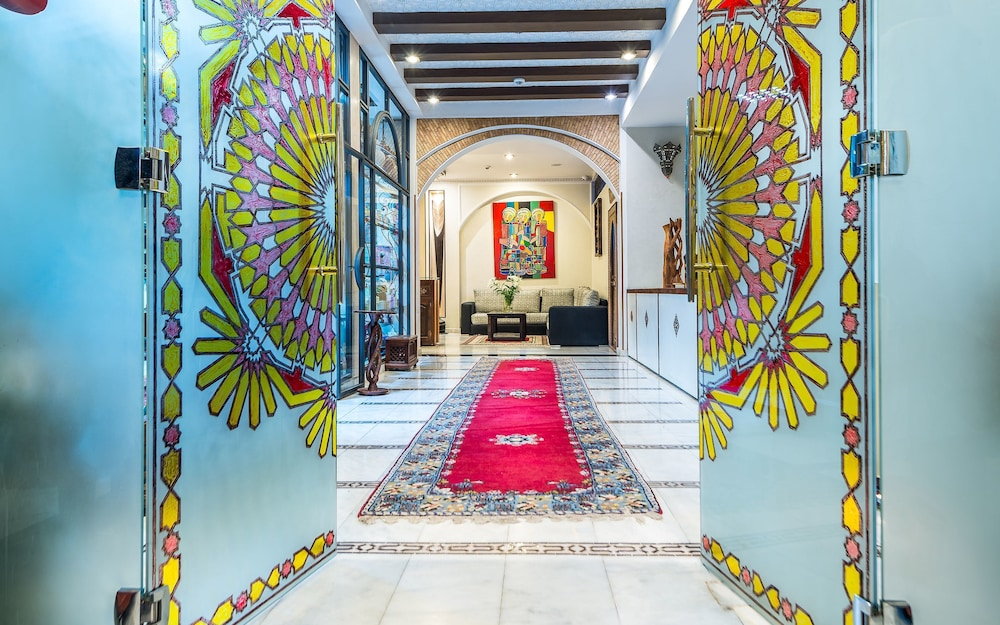 Interior Entrance, Hotel & Ryad Art Place Marrakech