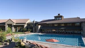 2 outdoor pools, open 6:00 AM to 9:00 PM, pool umbrellas, sun loungers