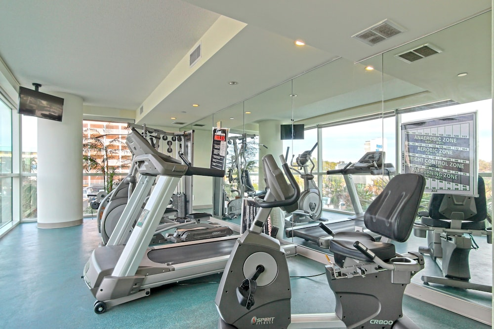Gym, Oceans One Resort