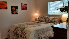 Premium bedding, memory foam beds, individually decorated