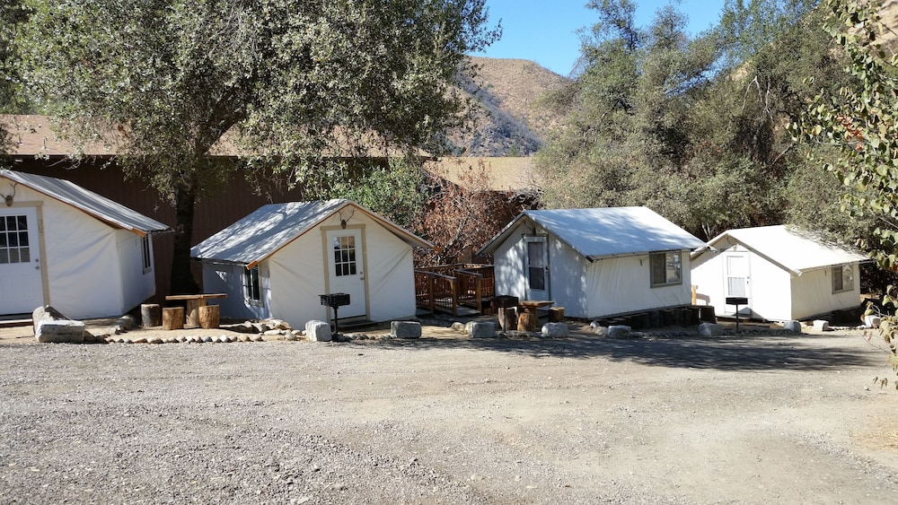 Hotel Front Featured Image Basic Tent 2 Twin Beds - Guestroom ... & Indian Flat RV Park - Tent Cabins u0026 Cottages: 2018 Room Prices ...