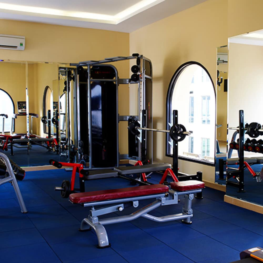 Gym, MerPerle Crystal Palace Hotel