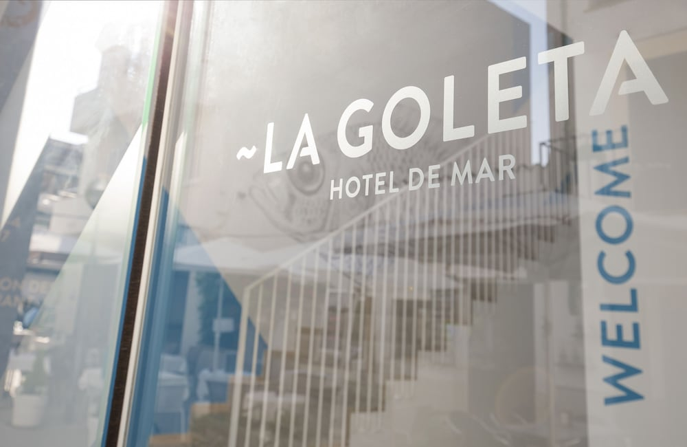 Exterior detail, La Goleta Hotel de Mar - Adults Only