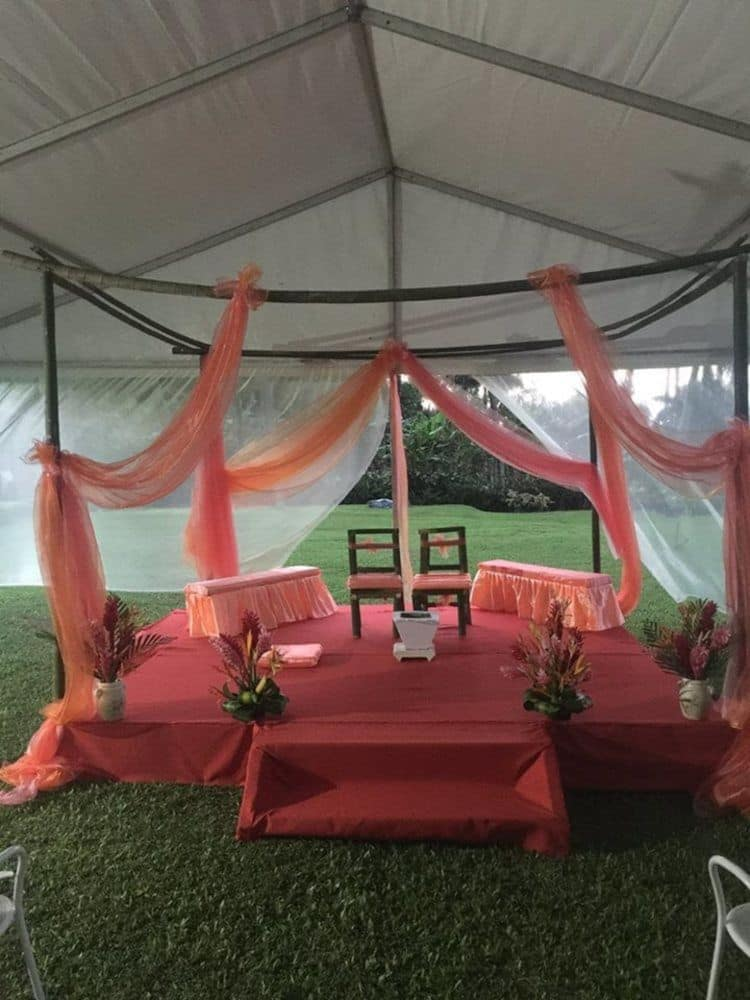 Outdoor Wedding Area, The Crow's Nest Resort