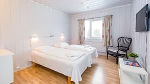 Senger med overmadrass, wi-fi (inkludert) og sengetøy