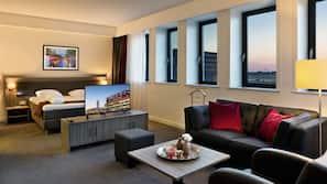 Safe på rommet og gratis wi-fi