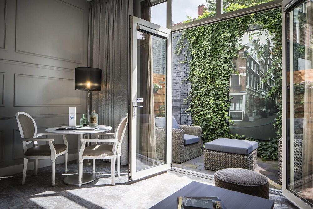 Área común luxury suites amsterdam