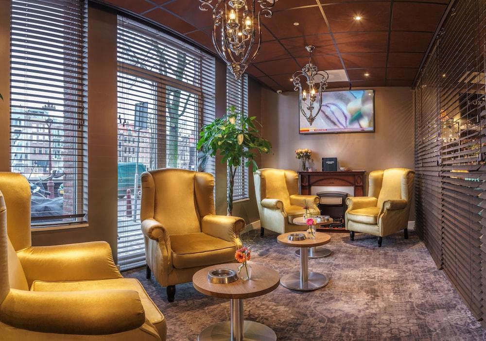 Vestíbulo luxury suites amsterdam