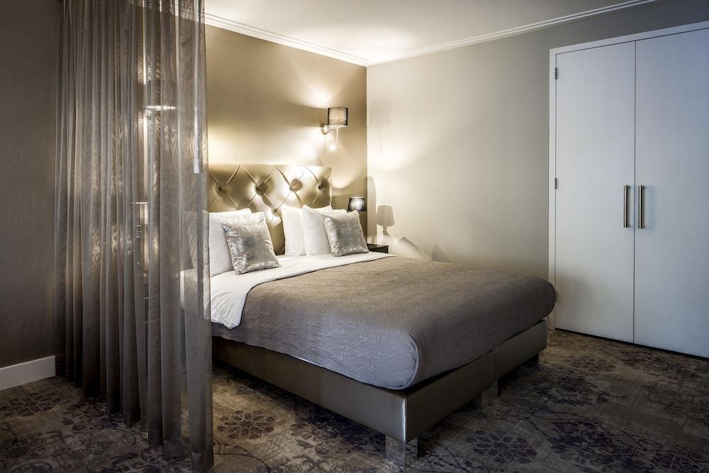 Sala de estar luxury suites amsterdam