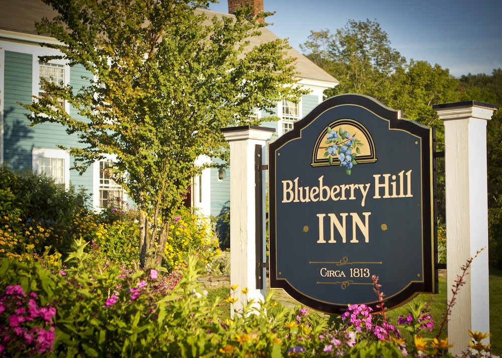 Exterior detail, Blueberry Hill Inn