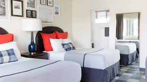 Premium bedding, down duvets, in-room safe, iron/ironing board