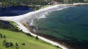 Private beach, white sand, beach massages