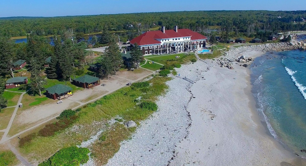 Aerial View, White Point Beach Resort