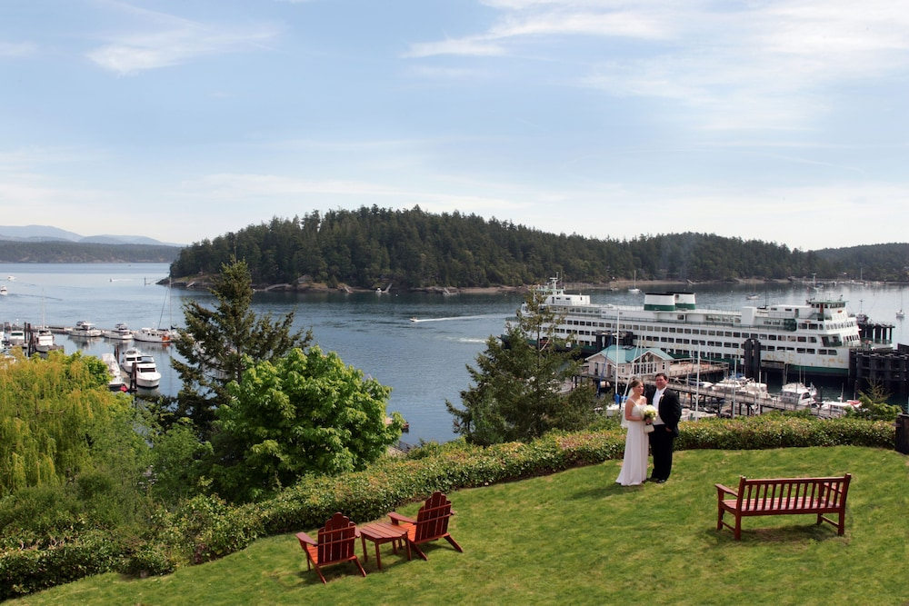 Aerial View, Friday Harbor House