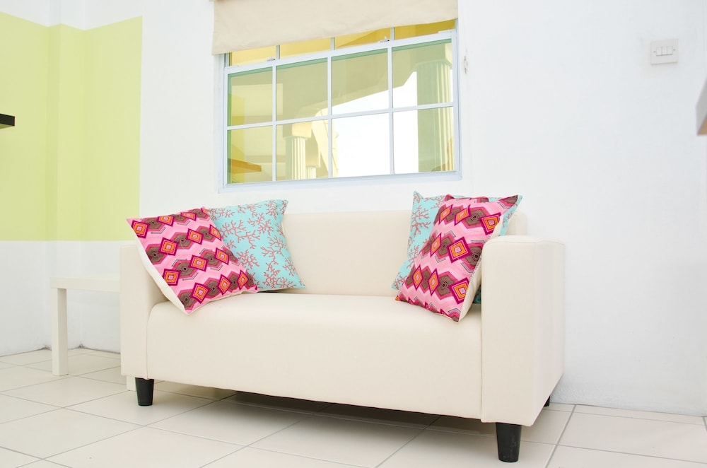 Living Area, Grenada Gold Apartments