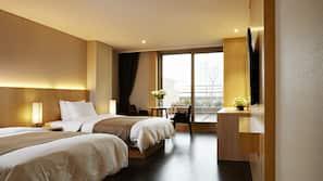 高級寢具、書桌、隔音、免費 Wi-Fi