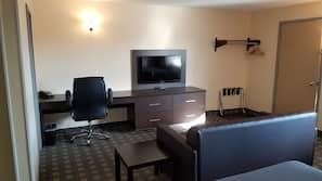Desk, iron/ironing board, free WiFi