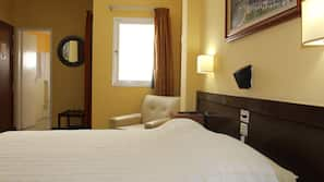 Egyptian cotton sheets, in-room safe, blackout curtains