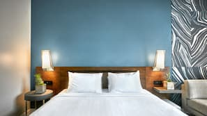 1 bedroom, hypo-allergenic bedding, in-room safe, laptop workspace