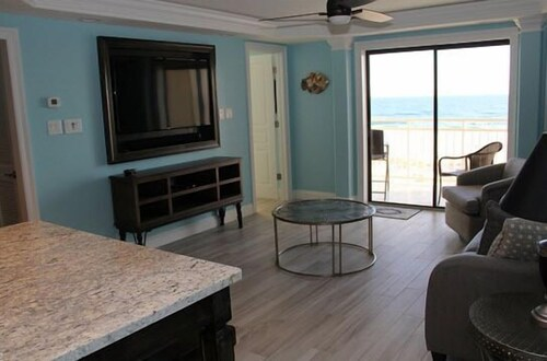 Living Area, Sugar Beach by Sugar Sands Realty