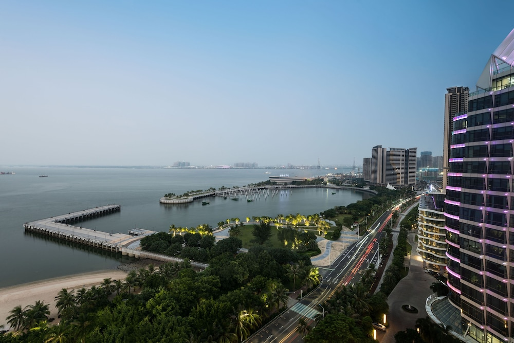 View from Room, Sheraton Zhanjiang Hotel