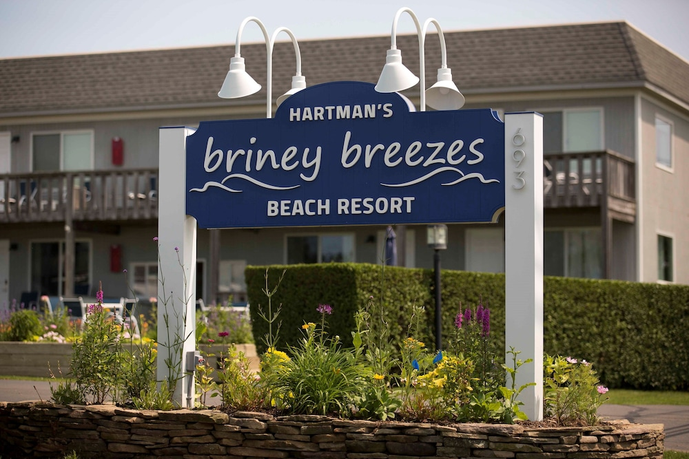 Property Entrance, Hartmans' Briney Breezes Beach Resort