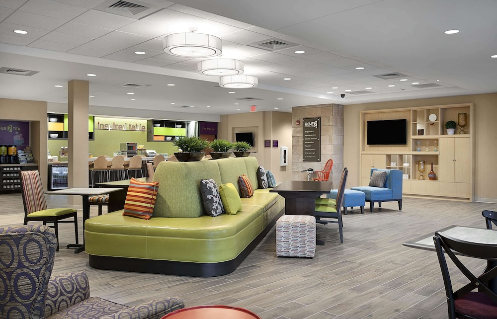 Lobby, Home2 Suites by Hilton Greenville Airport