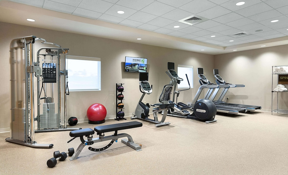 Fitness Facility, Home2 Suites by Hilton Greenville Airport