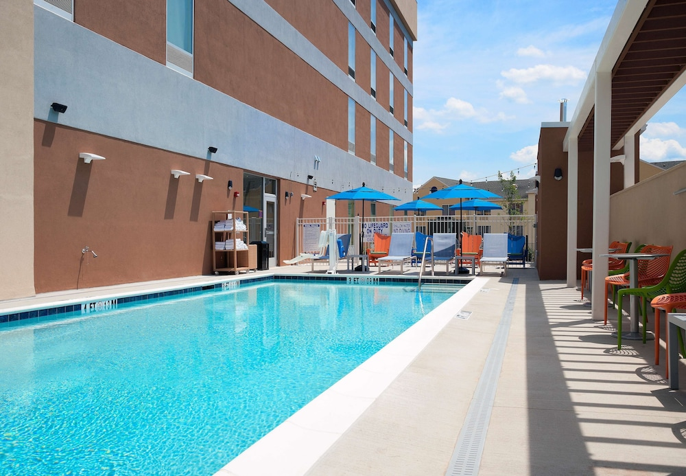 Pool, Home2 Suites by Hilton Greenville Airport
