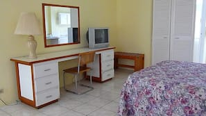 Desk, cribs/infant beds, rollaway beds, WiFi