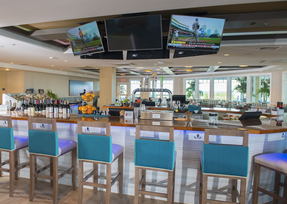 Bar, Bethany Beach Ocean Suites Residence Inn by Marriott
