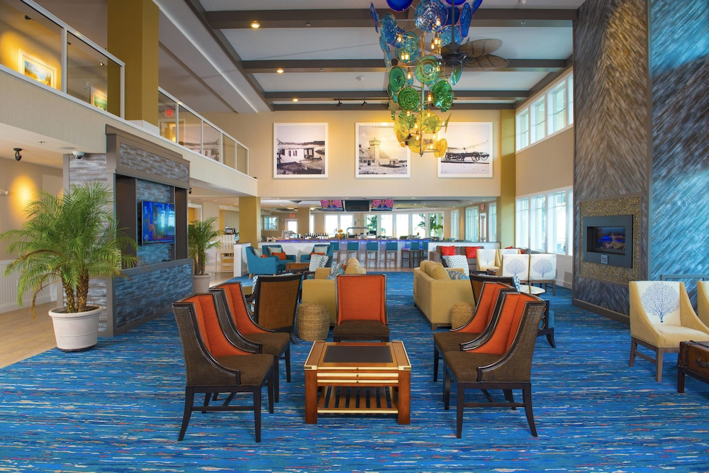 Lobby, Bethany Beach Ocean Suites Residence Inn by Marriott