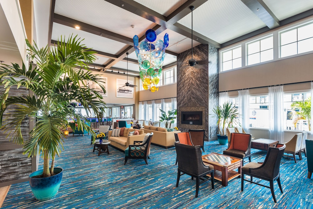 Lobby Lounge, Bethany Beach Ocean Suites Residence Inn by Marriott