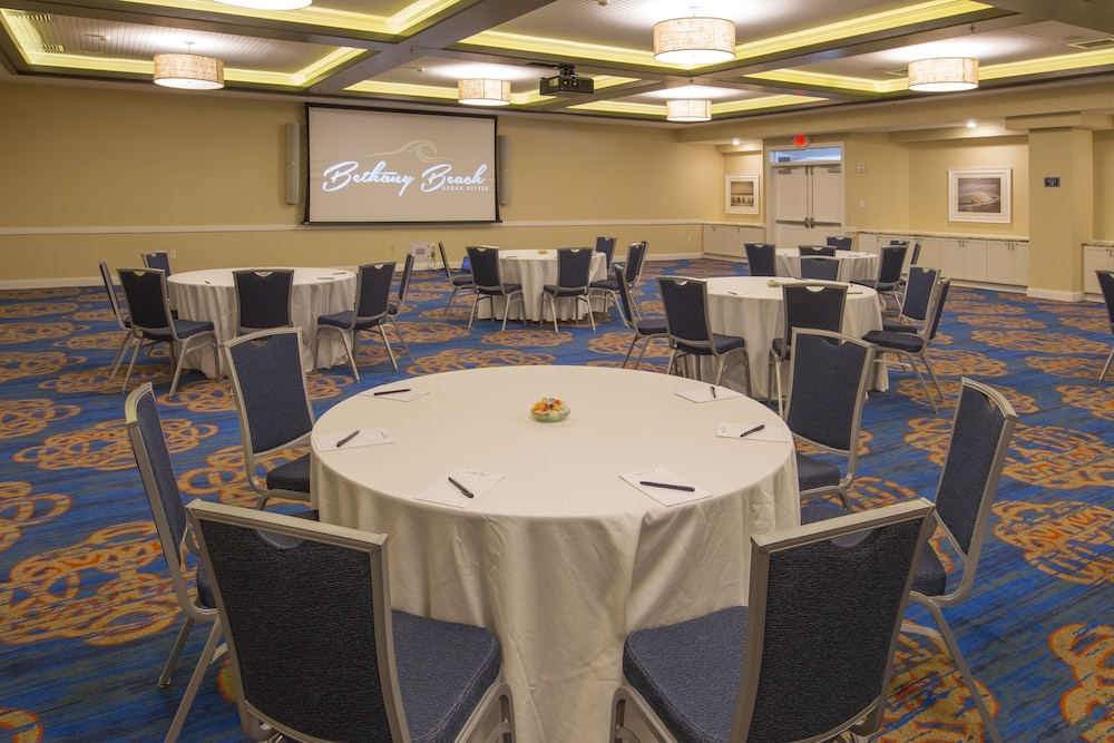 Banquet Hall, Bethany Beach Ocean Suites Residence Inn by Marriott