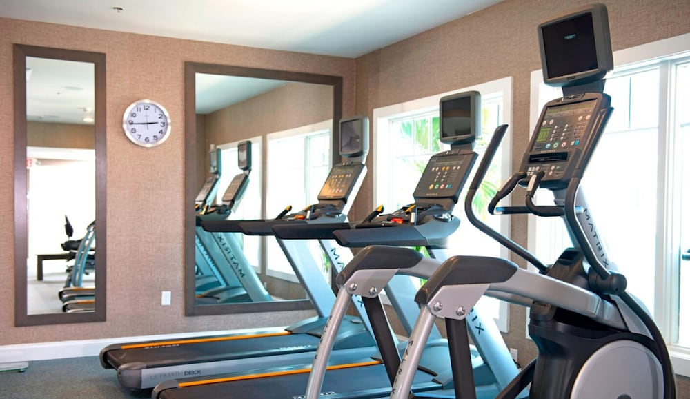 Fitness Facility, Bethany Beach Ocean Suites Residence Inn by Marriott