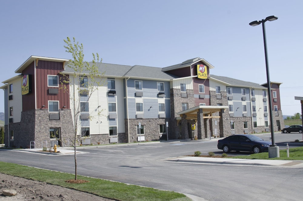 Front of Property, My Place Hotel-Missoula, MT