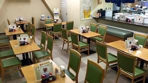 บริการอาหารเช้า อาหารกลางวัน และอาหารเย็น, อาหารญี่ปุ่น